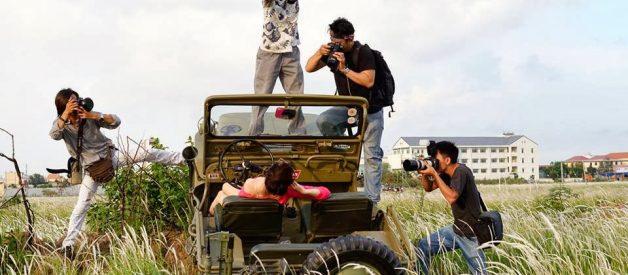 Cho thuê thợ quay flycam tại Hà Nội