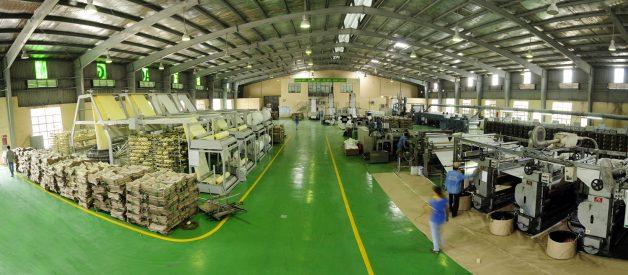 Giá chụp ảnh nhà máy, kho xưởng bằng Flycam